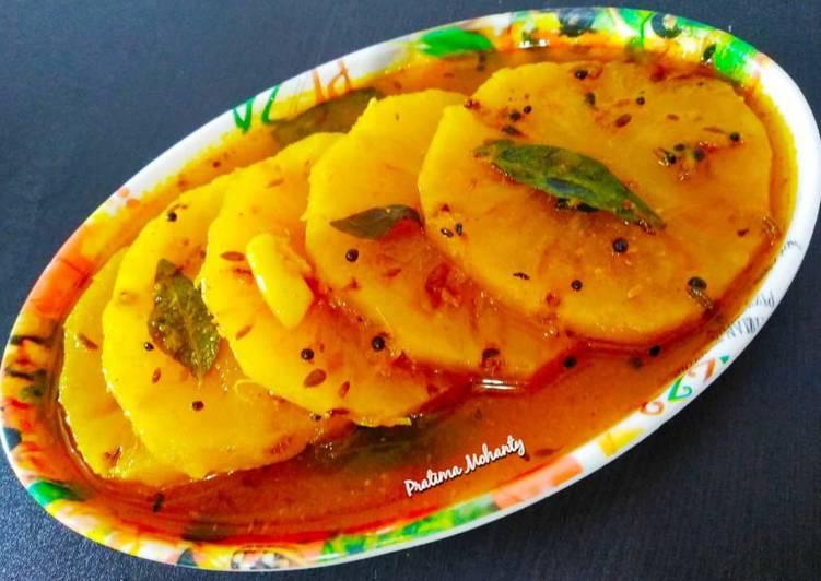 How to Make Perfect Pineapple Khatta (Chutney)