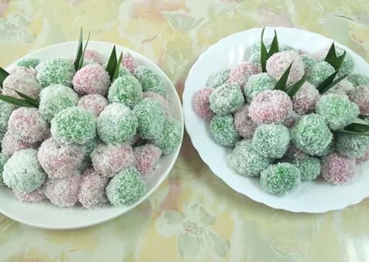 Kue, klepon simpel - cookandrecipe.com