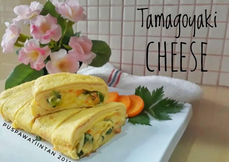 Resep Tamagoyaki cheese (telur dadar keju ala Jepang) Paling Top