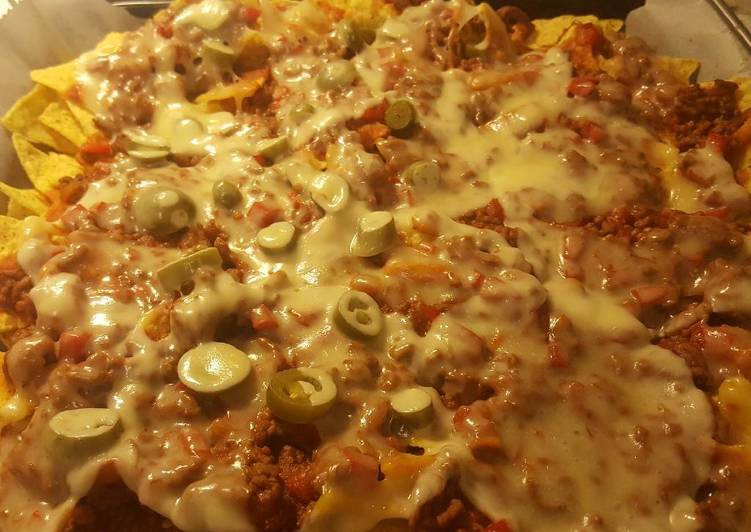 Recipe: Tasty Meat nachos