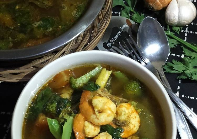 Sup Udang Kemangi