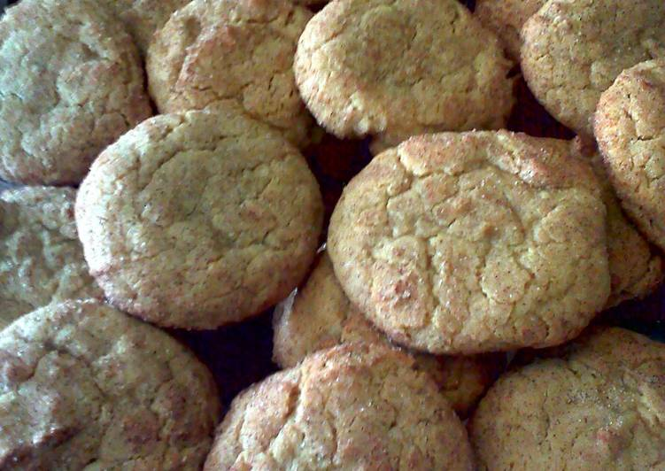 Steps to Make Ultimate snickerdoodle cookies with molasses and ginger