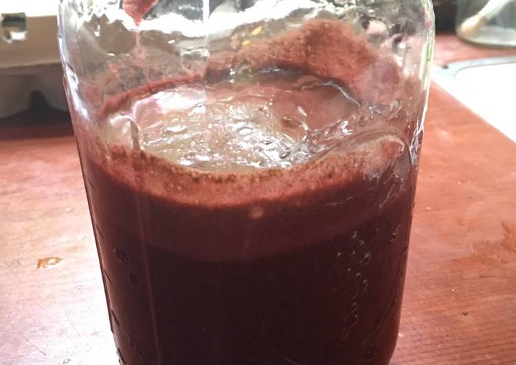 Recipe of Top-Rated Seasonal Veggie Juice