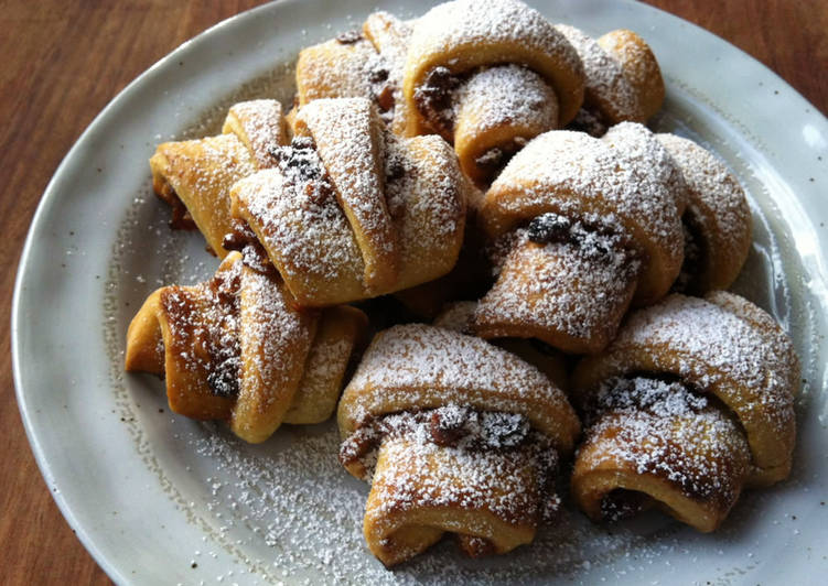 'Rugelach' Cream Cheese Pastry