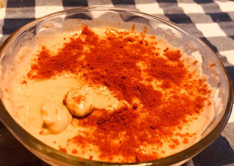Hummus de Poroto Manteca