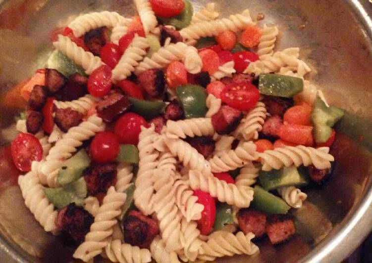 Recipe: Appetizing Weeknight pasta salad
