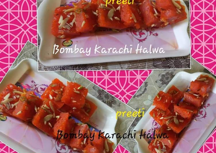 10 Minute Easiest Way to Make Speedy Bombay karachi Halwa /