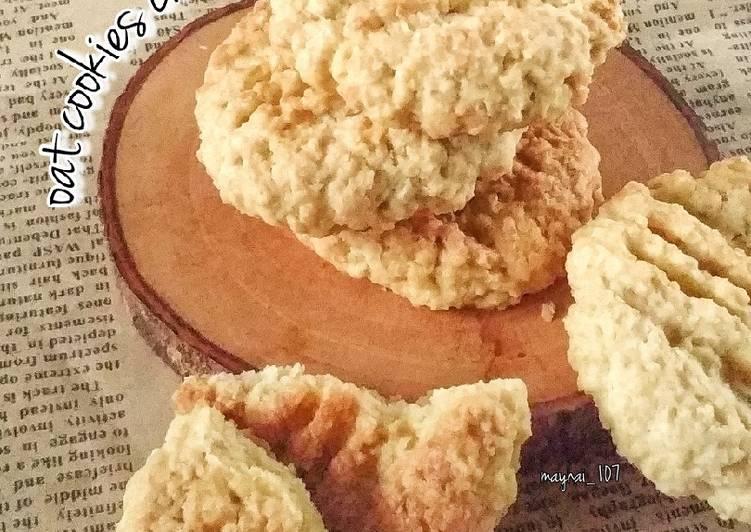 Cheese Oatmeal Cookies