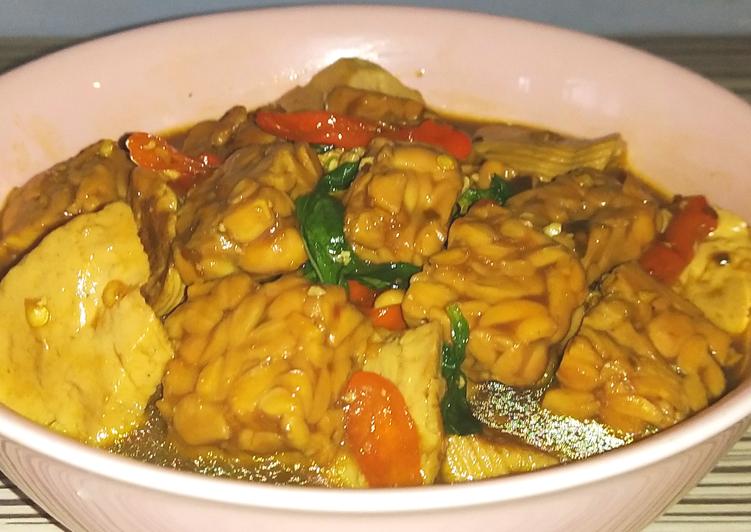 Resep Semur Tahu Tempe Kemangi Rice Cooker