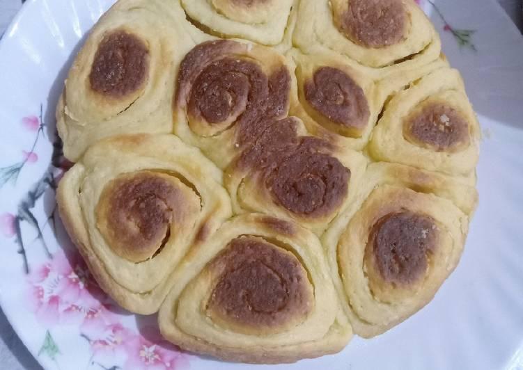 Resep Cheese Roll (Resep Cinnamon Roll) Paling Mudah