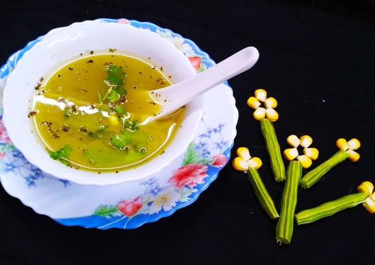 Drumstick Corn Soup