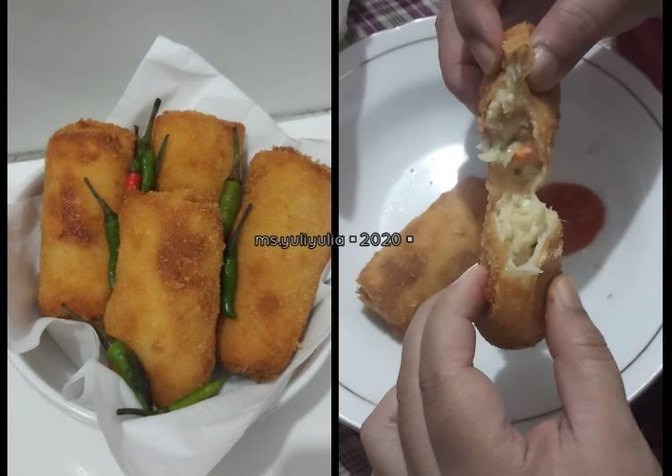 Cara Gampang Membuat Risoles Ragout Ayam Macaroni Garing Diluar Lembut Didalam Anti Gagal Bikin Resep