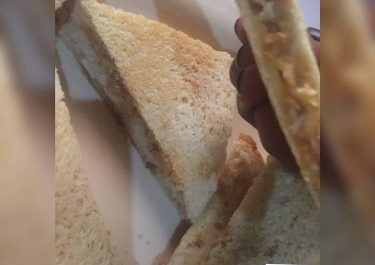 Eggg sandwich for breakfast