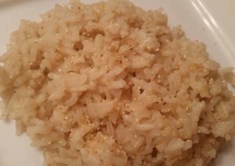 Steps to Make Homemade Cumin-Orange Rice