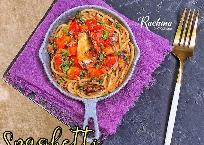 Spaghetti Saus Sarden
