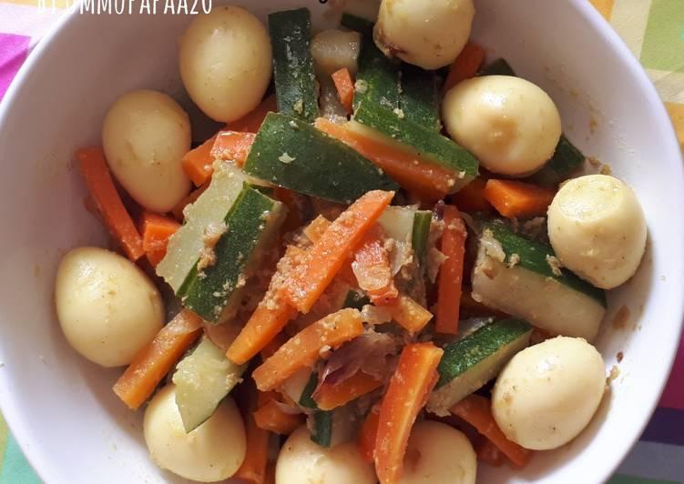 23. Acar Kuning Puyuh - cookandrecipe.com