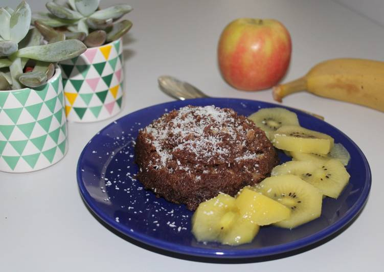 Comment Faire Des Bowlcake banane / chocolat