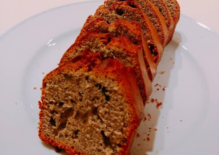 Japanese healthy sesame cake♪2