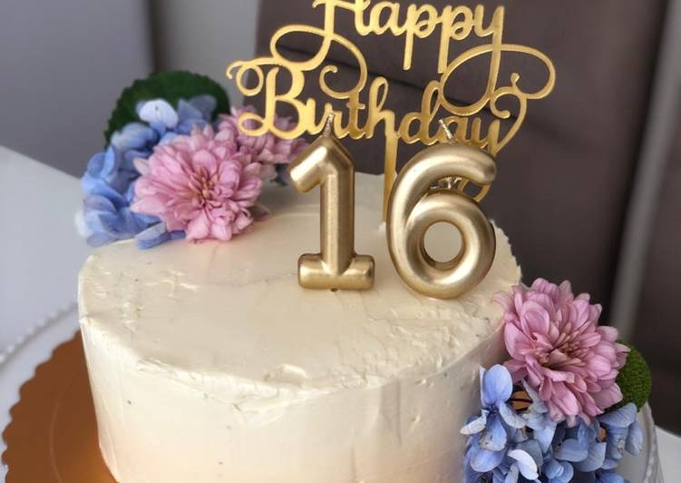 Black Forest Birthday Cake, mudah banget