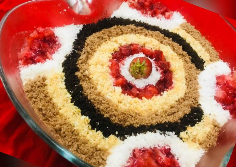 Recipe of Favorite Whosayna's Mocha Choc Mousse Carpet Pudding