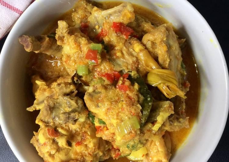 Ayam woku sederhana