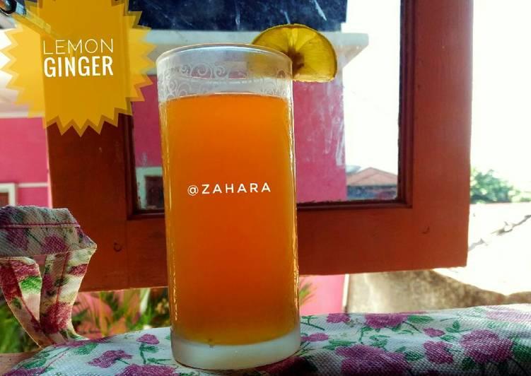 Lemon Ginger (Jahe Lemon) for Diet