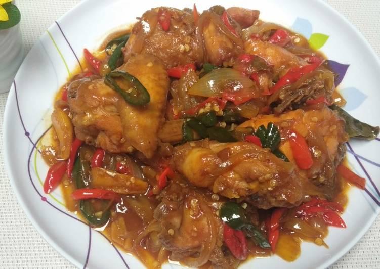 Ayam Goreng Kecap Pedas Manis
