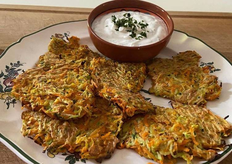 Comment Cuisiner Des galettes de courgettes et carottes