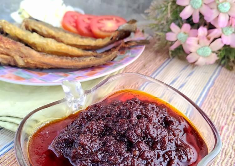 Sambal Cengek (khas Palembang)
