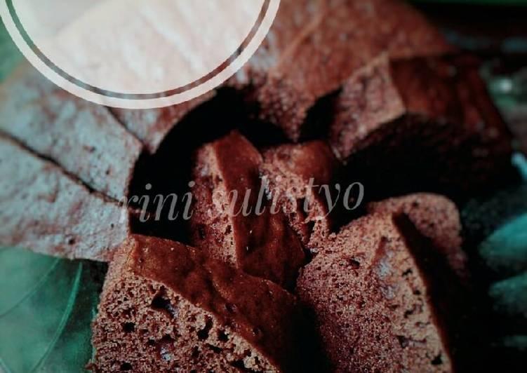 Bolu nutrijel coklat (kukus)