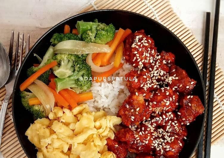 Resep Spicy Chicken Rice Bowl Oleh Dapurspatula Cookpad