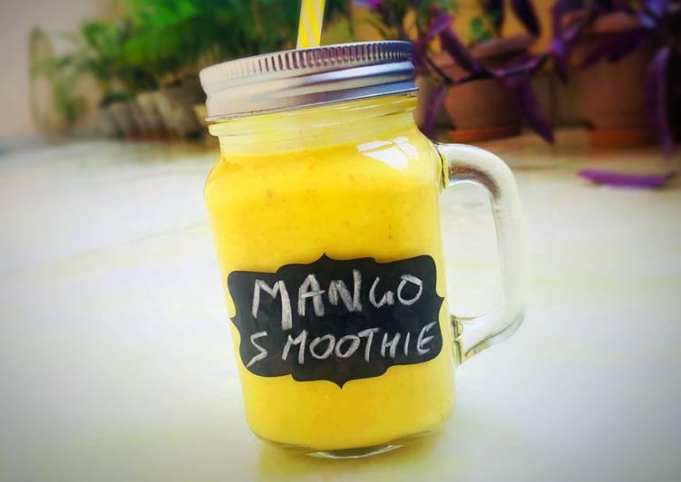 Mango Muesli Smoothie