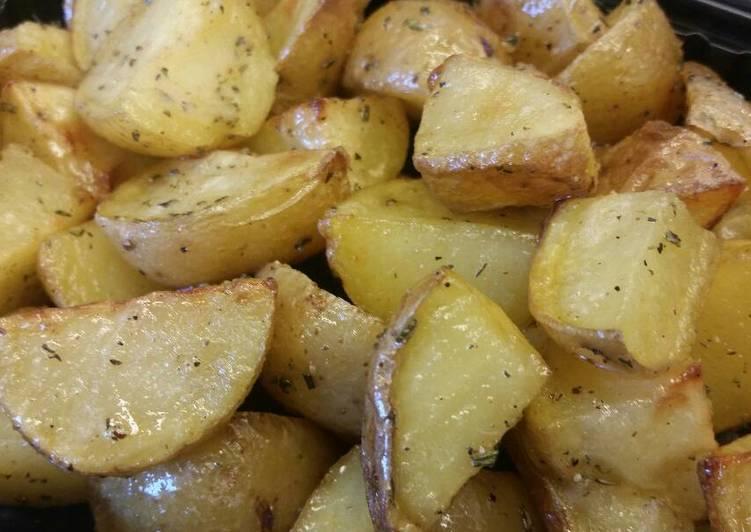 Rosemary-Honey Roasted Potatoes