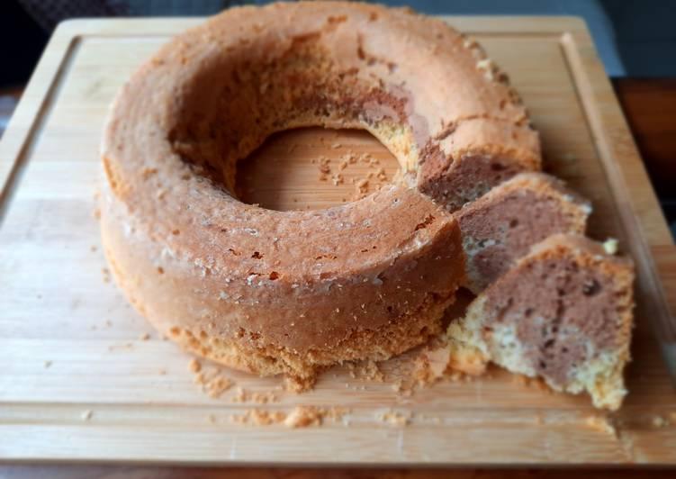 Marble Cake Sehat (Gluten Free & No Sugar)