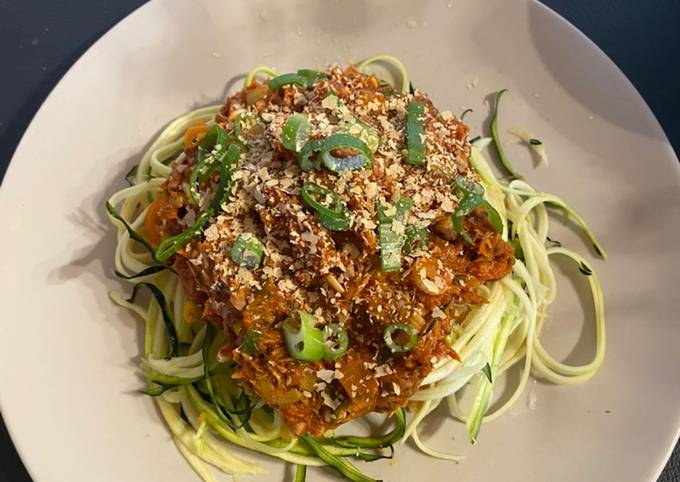 Thunfisch Zoodles