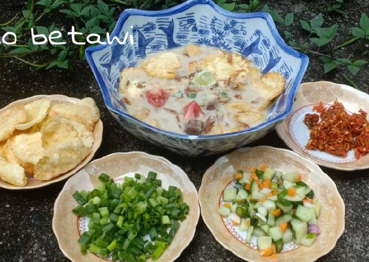 Resep Soto betawi kuah santan + susu mantul yang Lezat Sekali
