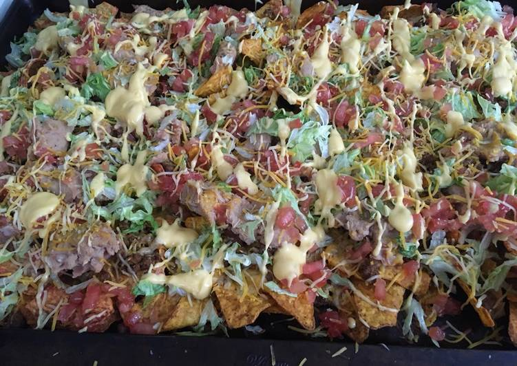 Triple Blazing Hot Loaded Nachos
