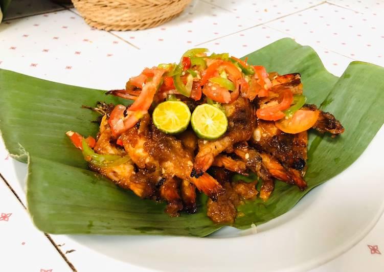 Resep Udang Bakar Saus Nanas Madu Ala Jimbaran Oleh Meica Chefdaster Cookpad