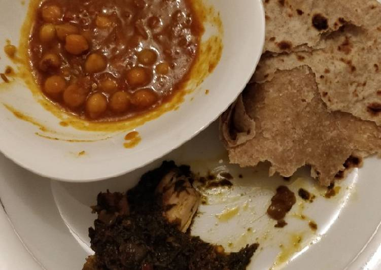 Chickpea curry (Chana masala curry)