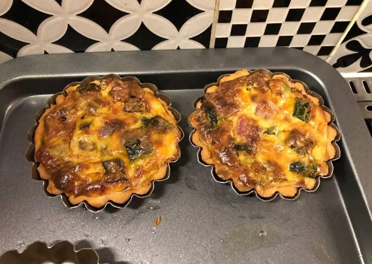 Tartelette piémontaise (courgettes&Parme)