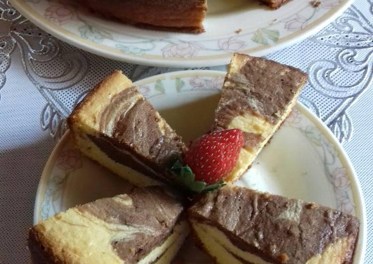 Marmer Cake Lembut