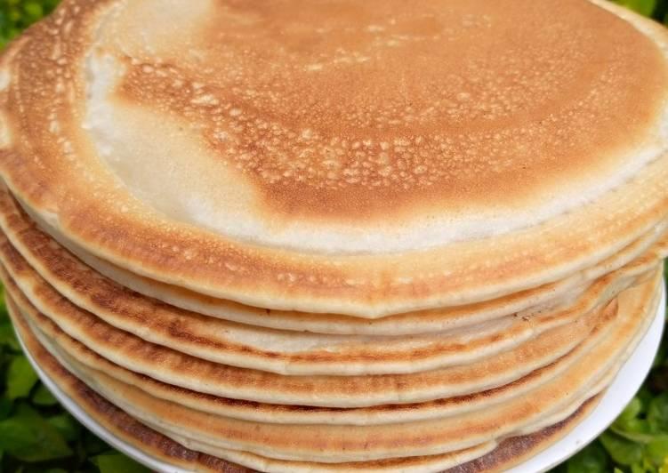 Easiest Way to Make Perfect Vanilla pancake