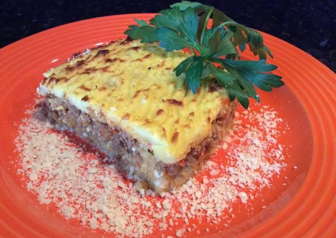 Meat and Potato Pie (Pastel de Papas)