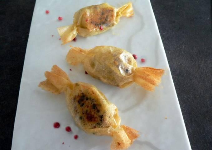 Bonbons au foie gras