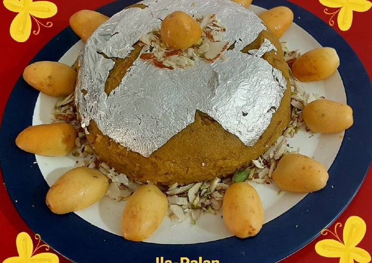 Simple Way to Prepare Perfect Kharek(Fresh Yellow Dates) Halwa