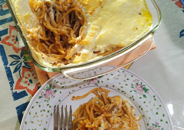 Spaghetti Brulee