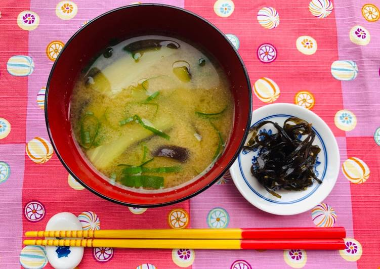 Japanese Eggplant Miso Soup, Learn The Truth About Superfoods