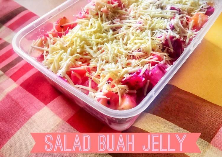 Salad Buah Jelly - cookandrecipe.com