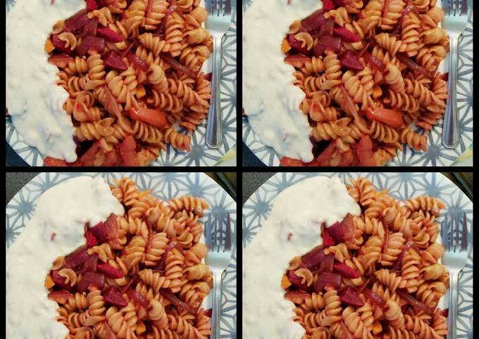 How to Cook Appetizing Beetroot pasta
