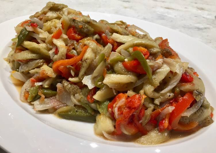 How to Prepare Speedy Escalivada Spanish Scalded Vegetable Salad